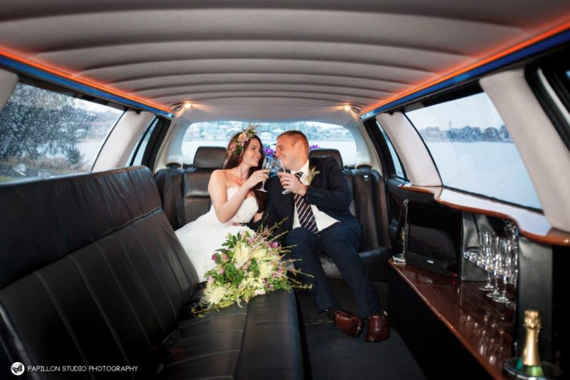 Limo hire wedding